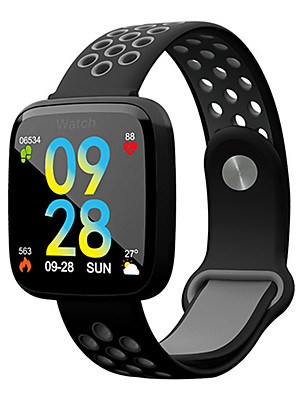 cheap Smart Watches-Smartwatch Digital Modern Style Sporty Silicone 30 m Water Resistant / Waterproof Heart Rate Monitor Bluetooth Digital Casual Outdoor - White / Blue Black / Gray Black / Green