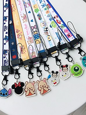 cheap Cell Phone Charms-Cell Phone Strap Phone Strap / Lovely PVC(PolyVinyl Chloride) Universal / iPhone 8 Plus / 7 Plus / 6S Plus / 6 Plus
