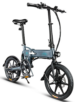 cheap Evening Dresses-FIIDO D2S Folding Moped Electric Bike Gear Shifting Version City Bike Commuter Bike E-Bike 16-inch Tires 250W Motor Max 25km/h 7.8Ah Battery Power Assisted Electric Bicycle for Adult