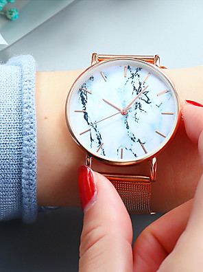 cheap Quartz Watches-Women's Quartz Watches Quartz Fashion Casual Watch Analog Rose Gold Black Gold / One Year / Stainless Steel / Stainless Steel / One Year