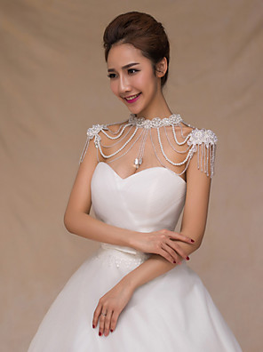 cheap Evening Dresses-Body Chain Women's Body Jewelry For Festival Alloy White 1pc