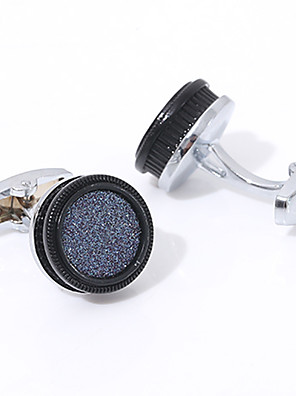 cheap Men's Accessories-Cufflinks Fashion Brooch Jewelry Silver For Gift Daily