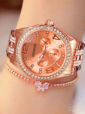 cheap Quartz Watches-Women's Quartz Watches Fashion Silver Gold Rose Gold Alloy Quartz Rose Gold Gold Silver Casual Watch Analog