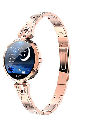 cheap Smart Watches-Smartwatch Digital Modern Style Sporty 30 m Water Resistant / Waterproof Heart Rate Monitor Bluetooth Digital Casual Outdoor - Golden Purple Blue