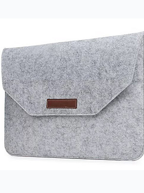 povoljno Oprema za MacBook-modna vuna osjetio laptop rukava torba torba za prijenosno računalo za macbook air pro retina 11 13 15 inčna torba za obloge za laptop