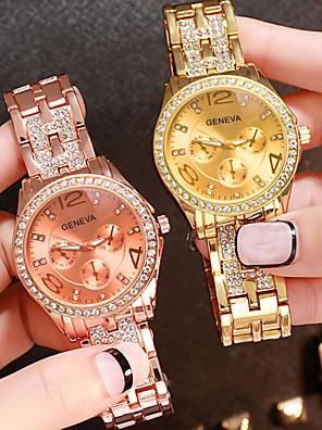cheap Quartz Watches-Women's Quartz Watches Quartz Fashion Casual Watch Silver / Gold / Rose Gold Analog - Rose Gold Gold Silver