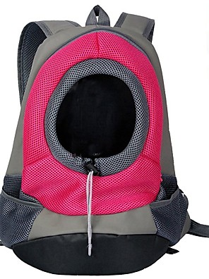 cheap Evening Dresses-Cat Dog Carrier Bag & Travel Backpack Cat Backpack Portable Breathable Solid Colored Nylon puppy Small Dog Purple Yellow Red