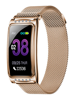 cheap Smart Watches-New F28 Fashion Women's Steel Belt Sports Bluetooth Smart Watch / Heart Rate And Blood Pressure Health Monitoring / Female Physiological Monitoring / Multiple Sports Modes / IP67 Waterproof