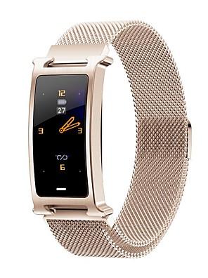 cheap Smart Watches-New F8 Fashion Men's Multi-Functional Steel Belt Sports Bluetooth Smart Watch / Heart Rate Blood Pressure Oxygen Health Monitoring / Multiple Sports Modes / IP67 Waterproof