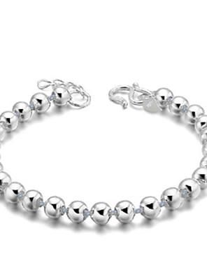 cheap Wedding Dresses-Women's Bracelet Classic Mini Fashion Silver-Plated Bracelet Jewelry Silver For Daily