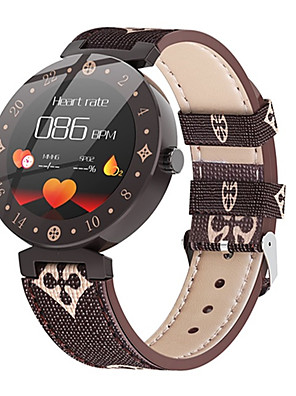 cheap Quartz Watches-Women's Digital Watch Digital Formal Style Modern Style Casual Water Resistant / Waterproof PU Leather White / Brown Digital - White+Coffee White