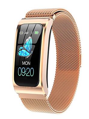 cheap Smart Watches-AK12 Women's Smartwatch Smart Bracelet Smartwatch Bluetooth Water Resistant / Waterproof Heart Rate Monitor Blood Pressure Measurement Bluetooth Smart ECG+PPG Stopwatch Heart Rate Monitor Sedentary