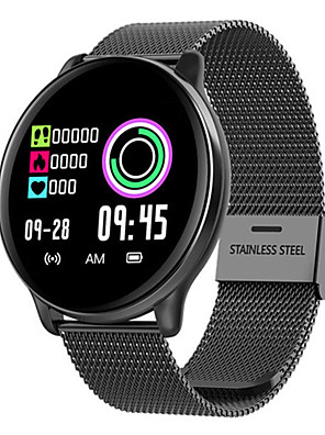 cheap Smart Watches-Smartwatch Digital Modern Style Sporty Silicone 30 m Water Resistant / Waterproof Heart Rate Monitor Bluetooth Digital Casual Outdoor - Black Black / Gray Pink