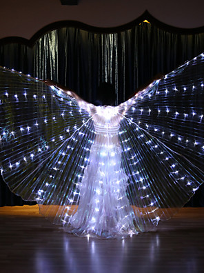 cheap Wedding Dresses-Dance Accessories Isis Wings Women's Performance Terylene LED