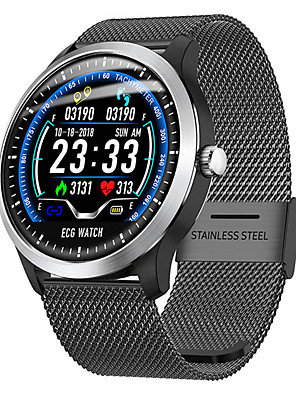 cheap Smart Watches-L58 Smart Watch BT Fitness Tracker Support Notify/Heart Rate Monitor/ECG Sport Bluetooth Smartwatch Compatible Apple/Samsung/Android Phones
