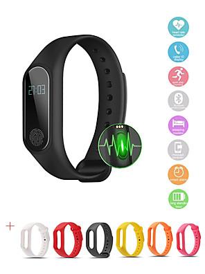 cheap Smart Watches-Smartwatch Digital Luxury Water Resistant / Waterproof Silicone Digital - White Black Blue
