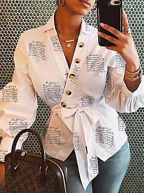 povoljno Bluza-Žene Cvjetni print Majica Dnevno V izrez Obala