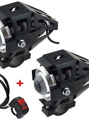 cheap Quartz Watches-Motorcycle electric car modified lamp LED lamp U5 transformers laser cannons headlamps with strong light weak light flash 2pcs