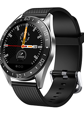 cheap Smart Watches-GT105 smart watch men IP67 waterproof 4 UI face 1.2 inch heart rate blood pressure call message remind smartwatch