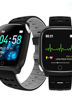cheap Smart Watches-F16 smart bracelet ECG band heart rate blood pressure blood oxygen sleep monitoring fitness tracker waterproof Smart Watch