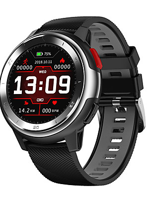 cheap Smart Watches-DT68 Smartwatch Digital Modern Style Sporty Silicone 30 m Water Resistant / Waterproof Heart Rate Monitor Bluetooth Digital Casual Outdoor - Black / Yellow Black / Gray White