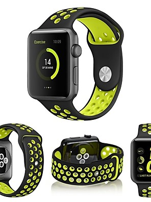 cheap Women's Skirts-Watch Band for Apple Watch Series 5/4/3/2/1 Apple Sport Band Silicone Wrist Strap