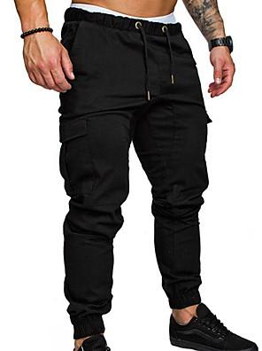 cheap Men's Pants & Shorts-Men's Basic Chinos Pants - Solid Colored Black Army Green Khaki US36 / UK36 / EU44 / US38 / UK38 / EU46 / US40 / UK40 / EU48