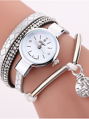 cheap Watches-Women's Wrap Bracelet Watch Quartz Leather Casual Watch Analog Casual
