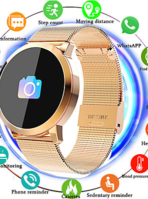 cheap Smart Watches-IMOSI Q8 Smartwatch Stainless Steel BT Fitness Tracker Support Notify/ Heart Rate Monitor Sport Bluetooth Smartwatch Compatible IOS/Android Phones
