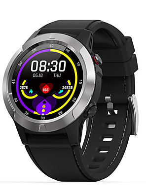 cheap Couple Watches-Men's Smartwatch Digital Stylish Genuine Leather Black 30 m Heart Rate Monitor Bluetooth Smart Digital Fashion - Black Golden Gray One Year Battery Life
