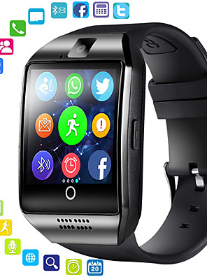 cheap Smart Watches-Men's Women's Sport Watch Smartwatch Digital Watch Digital Casual Bluetooth Digital White Black Silver / Silicone / Remote Control / RC / Stopwatch