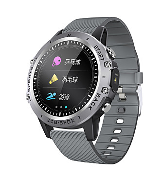 cheap Smart Watches-KUPENG P8 Men Women Smartwatch Android iOS Bluetooth Waterproof Touch Screen Heart Rate Monitor Blood Pressure Measurement Sports ECG+PPG Timer Stopwatch Pedometer Call Reminder