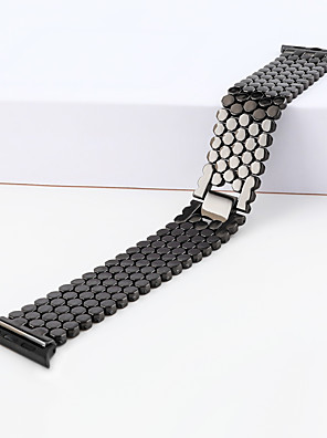 cheap Leather Watch Bands-Alloy Watch Band Black / White / Silver 23cm / 9 Inches 2.2cm / 0.9 Inches