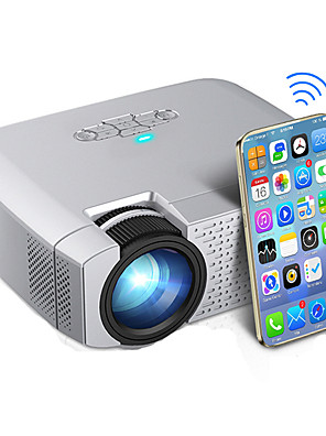 cheap Evening Dresses-D40W LED Mini Projector Video Beamer for Home Cinema 1600 Lumens Support HD Wireless Sync Display For iPhone/Android Phone D40W