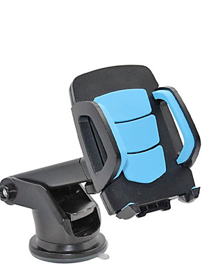 cheap Phone Mounts & Holders-Car Phone Holder Gravity Mount Dashboard Stand Car Suction Cup Support Mobile Phone Bracket Auto Interior Accessories