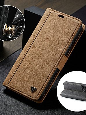 cheap iPhone Cases-WHATIF Case For Apple iPhone 11 / iPhone 11 Pro / iPhone 11 Pro Max   Kraft Paper Detachable 2 in 1 Wallet Phone Case Mobile Phone Cover with Card Holder