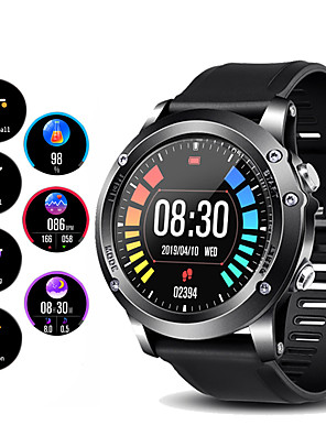 cheap Smart Watches-Couple's Smartwatch Digital Stylish Fashion GPS Silicone Black / Red / Orange Digital - Black / Silver Black Red One Year Battery Life / Heart Rate Monitor