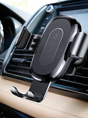 cheap Wireless Chargers-Baseus Wireless Charger Gravity Car Mount black