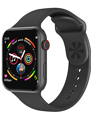 cheap Smart Watches-Smartwatch Digital Modern Style Sporty Silicone 30 m Water Resistant / Waterproof Heart Rate Monitor Bluetooth Digital Casual Outdoor - Black Gold Silver
