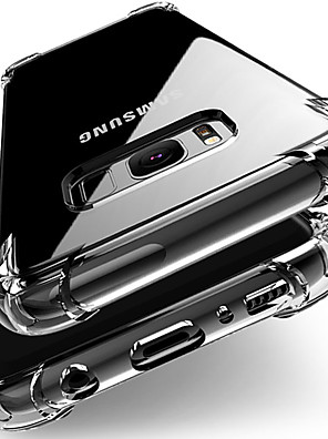 cheap Samsung Case-Anti-knock Silicon Case For Samsung Galaxy case S10 S9 S8 Plus S7 Edge Note 10 9 8 plus A90 80 70 50 40 30 20 10 A 9 8 7M20  TPU Clear Full Protective Cover