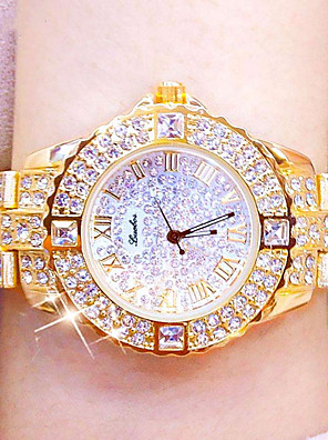 cheap Quartz Watches-Women's Quartz Watches Luxury Fashion Silver Gold Rose Gold Alloy Quartz Rose Gold Gold Silver Casual Watch Analog