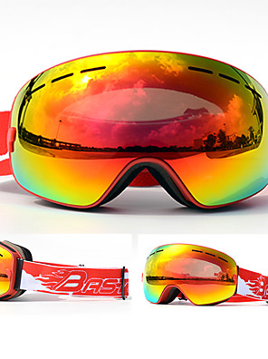 cheap Romantic Lace Dresses-BASTO Ski Goggles for Adults' Winter Sports Waterproof Adjustable Size