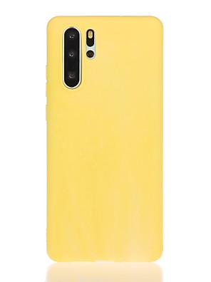billige Etuier/deksler til Huawei-etui til huawei scenekart p30 p30 pro p30 lite mate 30 mate 30 lite ensfarget godterifarge enkel frostet tpu tekstur all-inclusive telefonetui tt