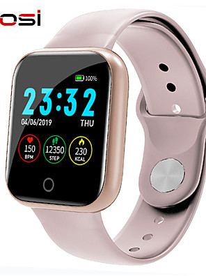 cheap Smart Watches-imosi Heart Rate Blood Pressure Oxygen I5 Smart Watch Men Women Smartwatch For Apple Watch Android IOS phone