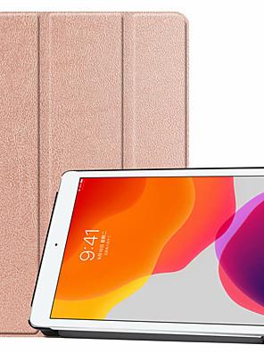 cheap iPad case-Full Cover PU Case for iPad 10.2 inch 2019 Auto Sleep/Wake iPad Pro 10.5 iPad Air 1/2 2017/218