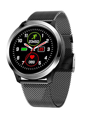 cheap Smart Watches-KUPENG KE70 Unisex Smartwatch Android iOS Bluetooth Waterproof Heart Rate Monitor Blood Pressure Measurement Sports Exercise Record ECG+PPG Pedometer Call Reminder Activity Tracker Sleep Tracker