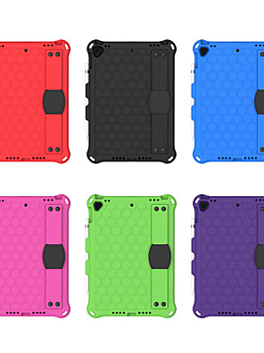 cheap iPad case-Case For Apple iPad 10.2''(2019) / iPad Pro 10.5 / iPhone SE(2020) Shockproof Back Cover Solid Colored PC / EVA