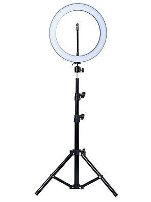 cheap Flower Girl Dresses-Photo LED Selfie Ring Fill Light 10inch Dimmable Camera Phone 26CM Ring Lamp With Stand Tripod For Makeup Video Live Studio
