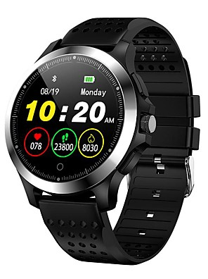 cheap Smart Watches-New W8 Sports Leisure Men's And Women's Bluetooth Smart Watch Bracelet Heart Rate Blood Pressure Electrocardiogram Monitoring Sleep Health Monitoring Intelligent Reminder / IP67 Life Waterproof