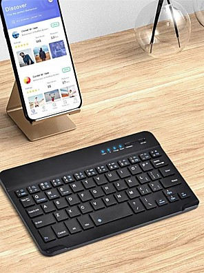 cheap iPad Keyboards-Bluetooth Office Keyboard Frosted / New Design For Android OS / iOS / MAC Bluetooth3.0